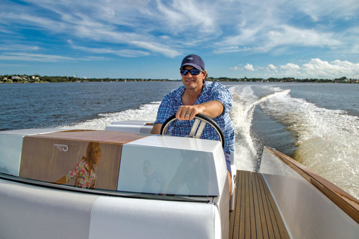 Bryant sees electric propulsion gaining popularity as more people experience it.