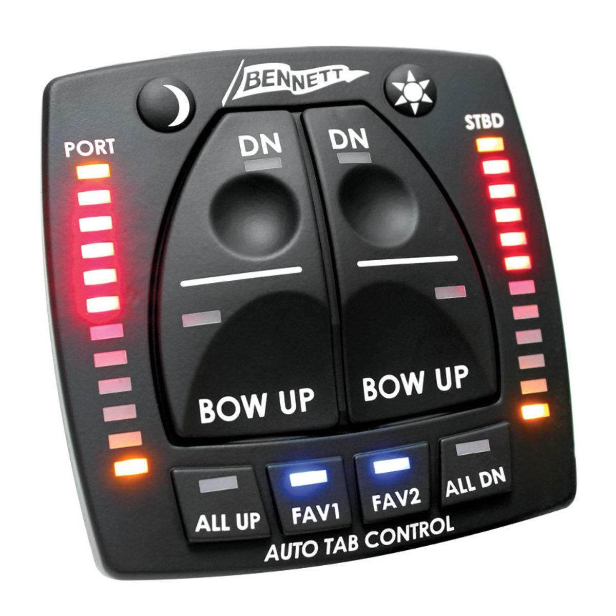 Bennett's AutoTrim Pro has built-in position indicators.