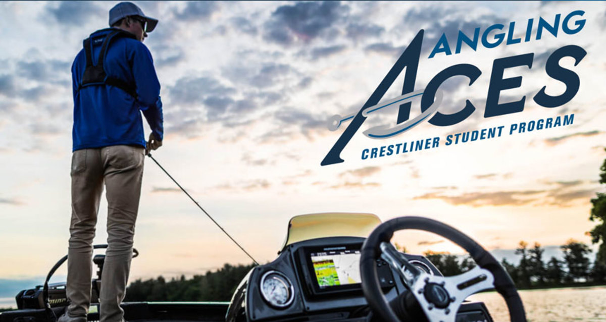 Crestliner's Angling Aces program is targeted at high school and college students.