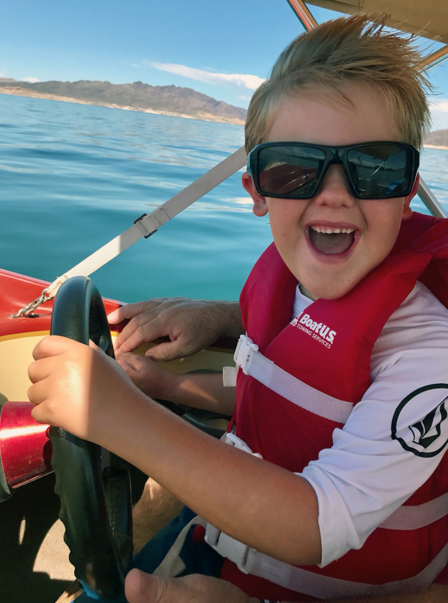 The BoatUS Life Jacket Loaner program ensures that kids stay safe on the water.