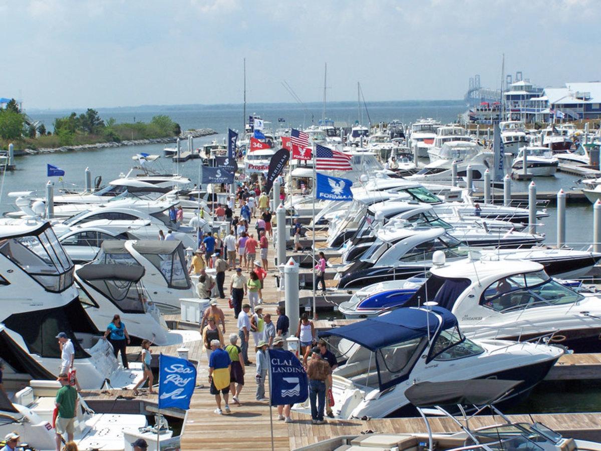 Attendance at the Bay Bridge Boat Show grew to near prerecession levels.