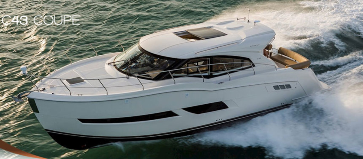 Demand for boats such as Carver's C43 Coupe have made it difficult for the Marquis-Larson Boat Group to keep up.