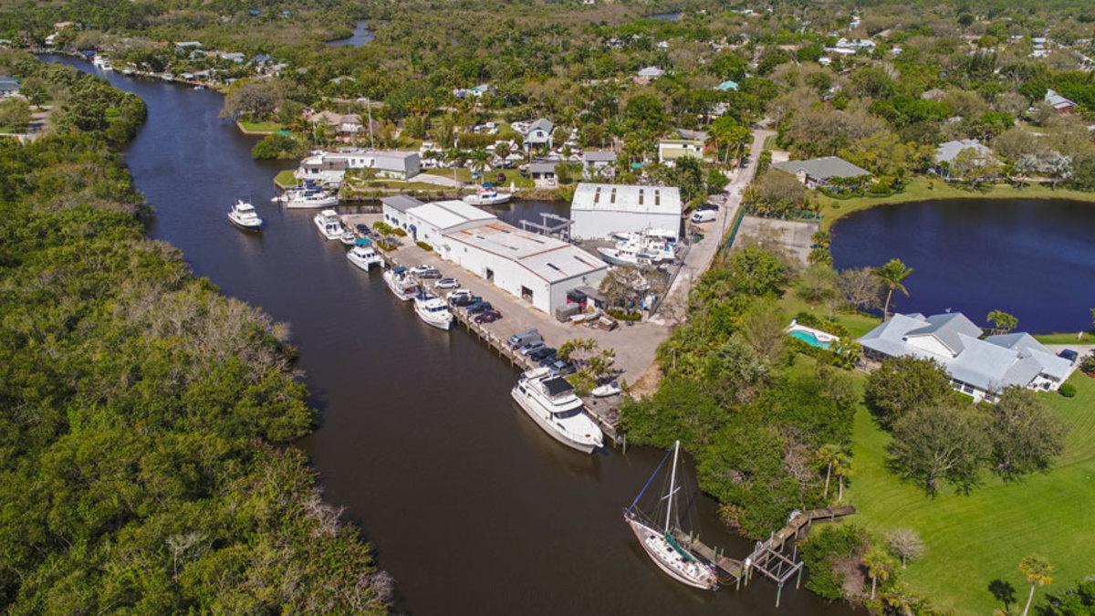 Stuart Yacht Basin will serve as Grand Banks' U.S. headquarters.