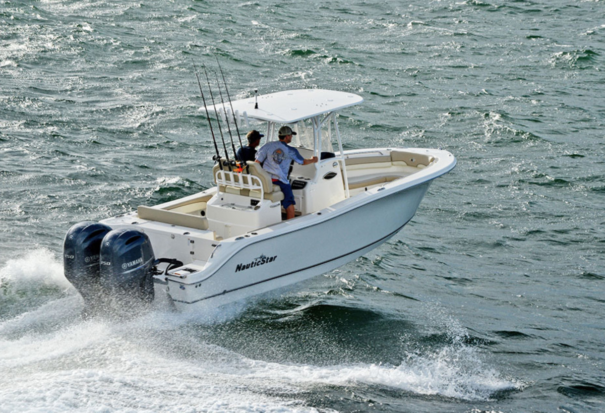 Sales of NauticStar Boats, such as this 25XS, increased 42 percent over last year.