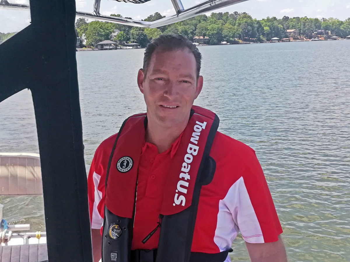 Captain Adam Huth now has two TowBoatUS locations on South Carolina's Lake Wylie.