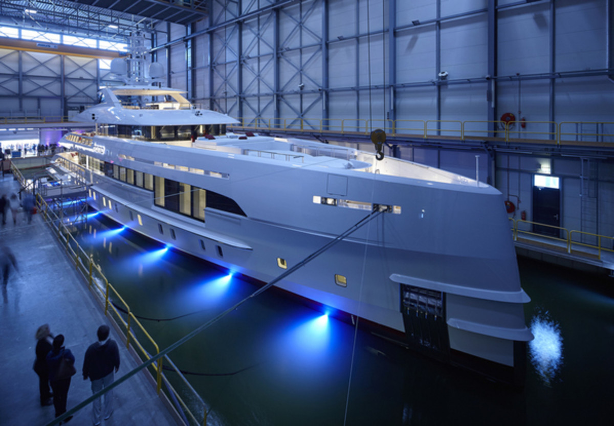 Dutch yards launched 21 superyachts in 2017 and took 23 orders for new vessels.