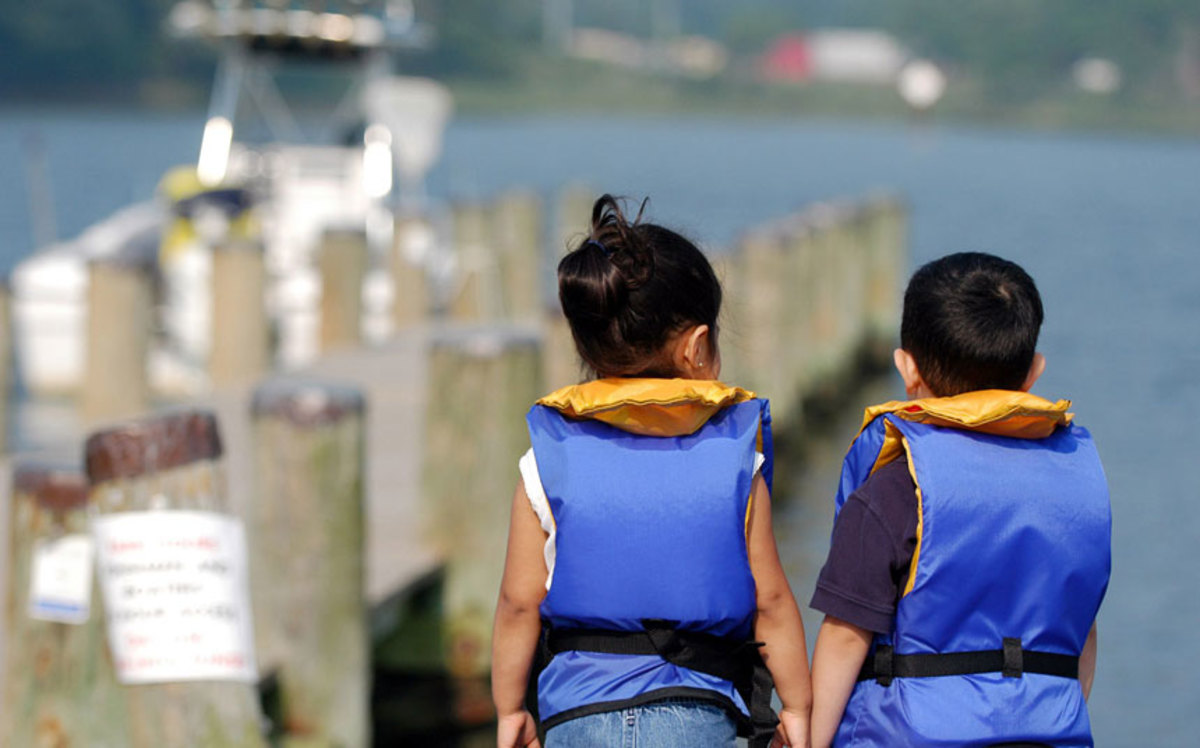 Statistics show that wearing a lifejacket improves safety for boaters of all ages.