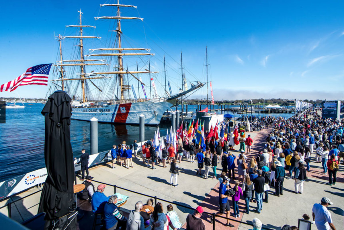 Three years ago the Newport stopover highlighted sailing and boating to 131,000 visitors.