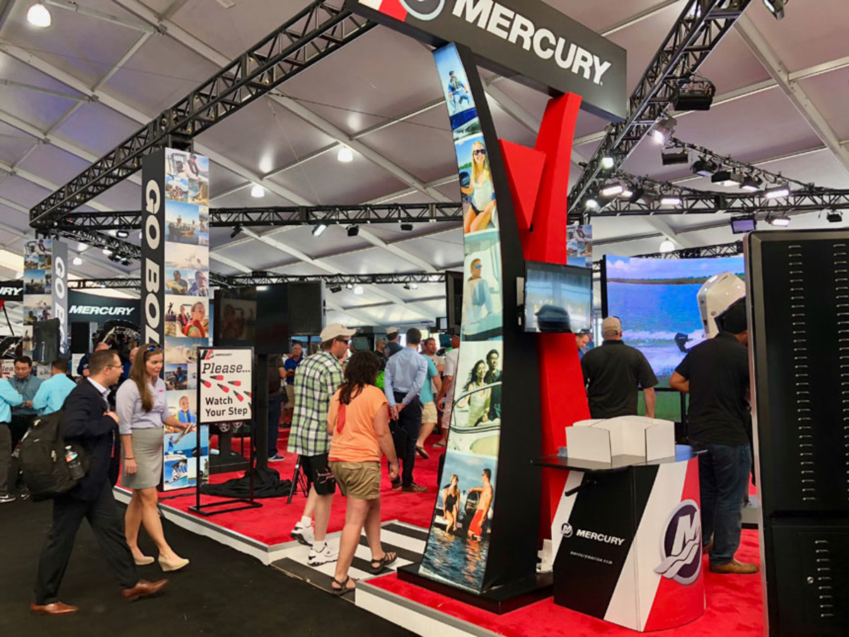 New products such as Mercury's V-6 FourStroke outboards should help drive sales.