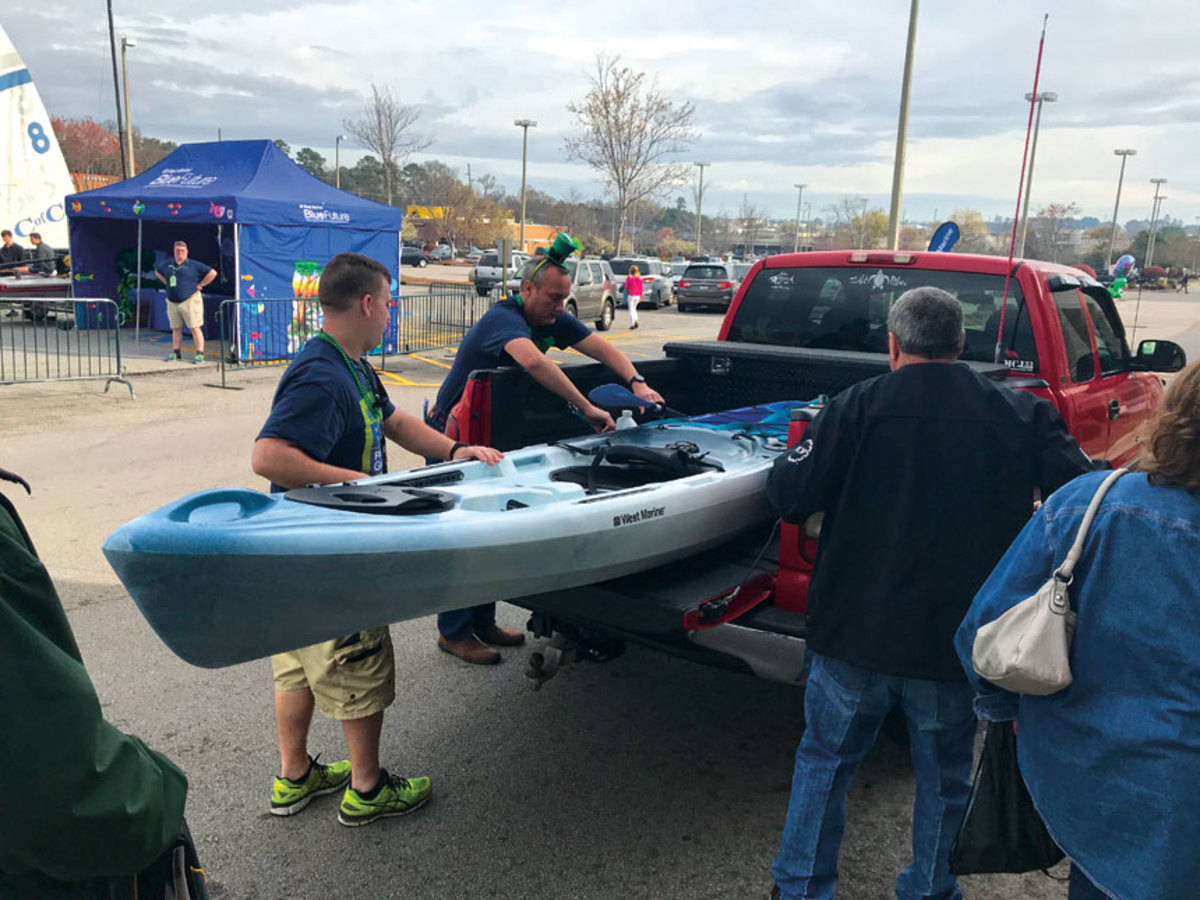 Kayaks and other paddle sports continue to be big sellers.