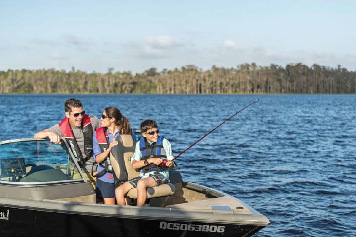 Studies have shown that children will continue fishing if their parents are anglers, too.