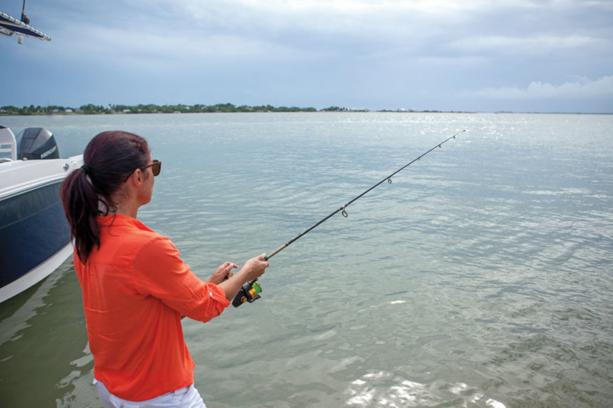Women have driven an 8.2  percent spike in fishing participation during the past five years.