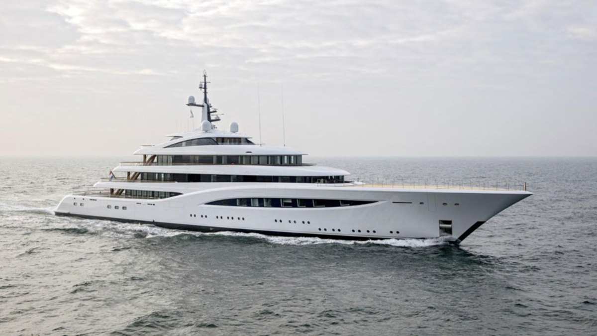 Faith, a 317-foot Feadship, was named Motor Yacht of the Year.