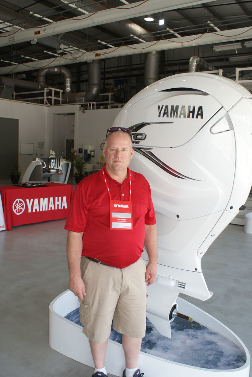 Yamaha Viking For Sale >> Yamaha president weighs in on size of new outboard - Trade ...