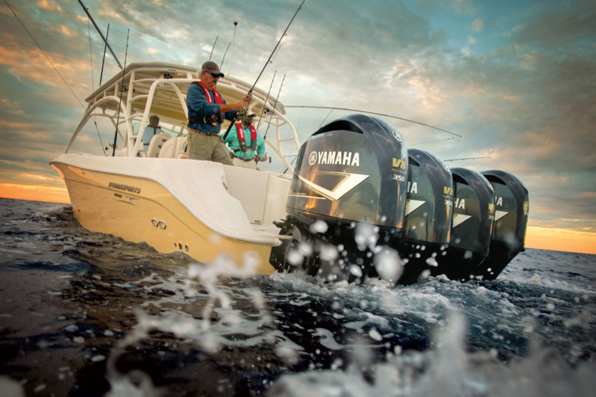 Yamaha expects supply shortages for some of its engines to ease with the debut its new 425-hp V8 outboard.