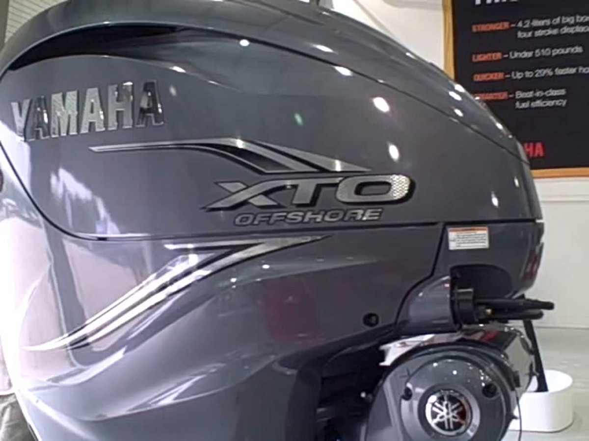 VIDEO: Yamaha's new 425-hp outboard in action
