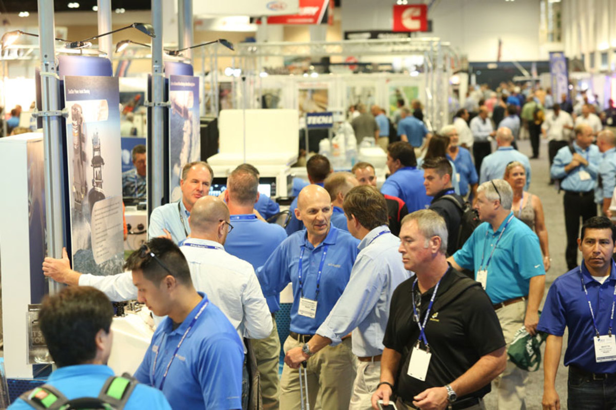 IBEX has been a must-attend event for marine-industry professionals.