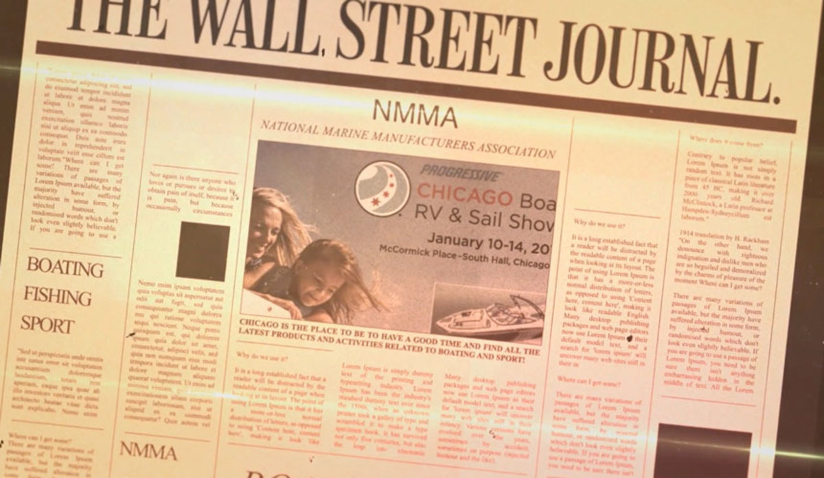 The NMMA detailed its marketing efforts during the winter boat show season.