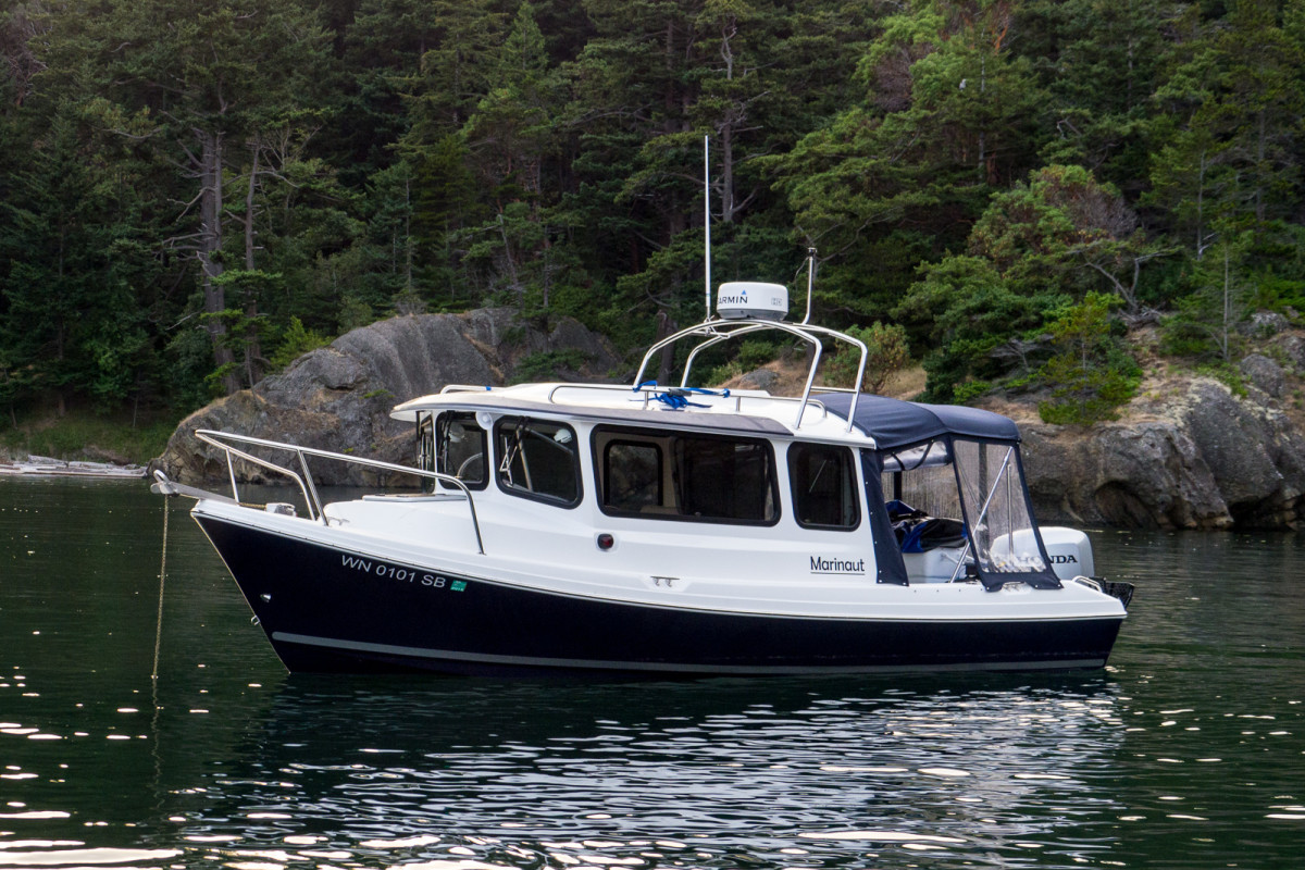 The Marinault 220 Pilot House Cruiser is the first of the new models.