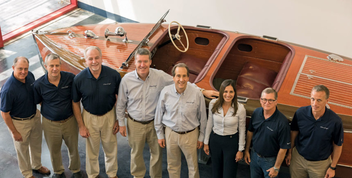 Chris-Craft's senior management team has signed a multi-year agreement to stay with the company after the acquisition.