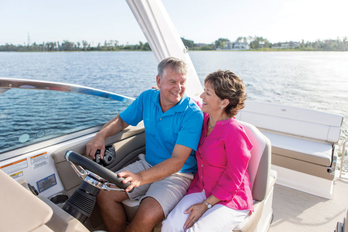 The average age of boat buyers has risen steadily and is now 56.  But the average user could be much younger.