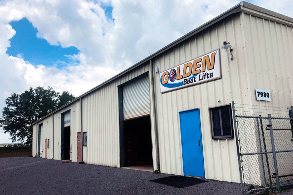 Golden Boat Lifts expanded its facility to meet increased demand