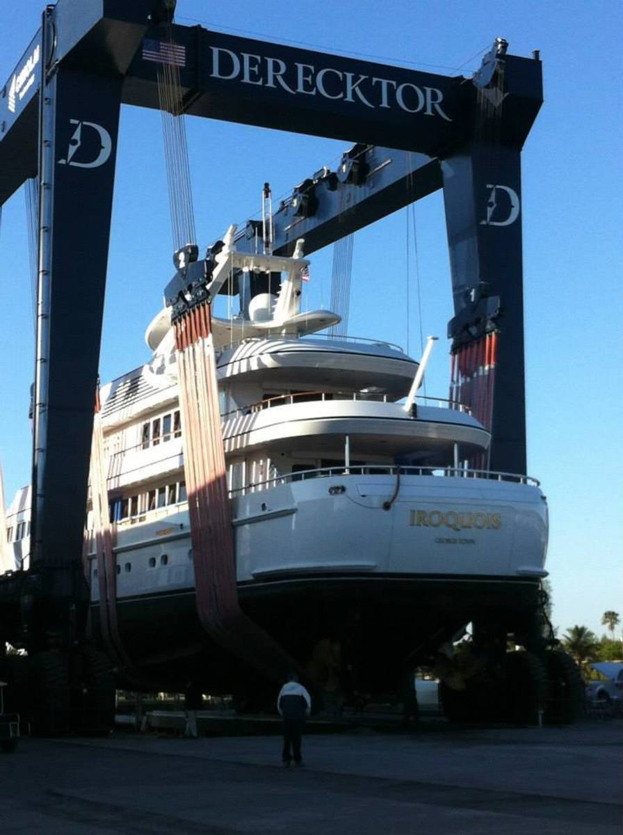 Derecktor has a full-service superyacht yard in Fort Lauderdale.