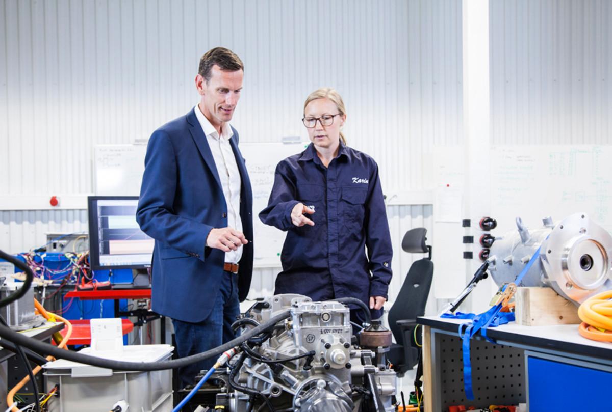 Volvo's Electromobility Lab