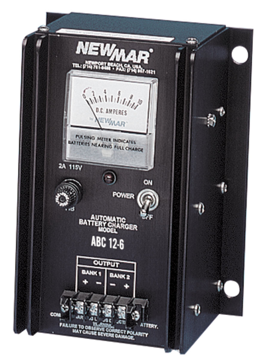 MCE Marine's Newmar ABC Battery charger.