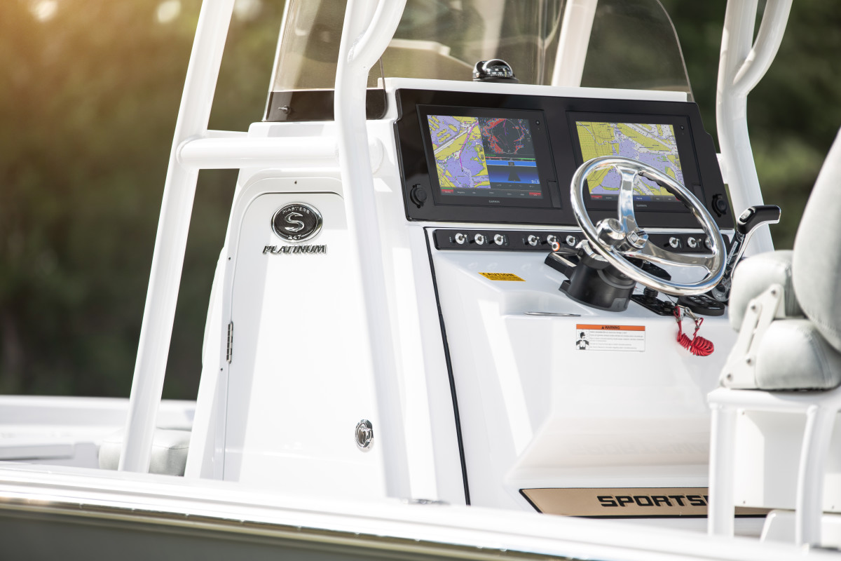 Sportsman Boats will exclusively feature Garmin electronics.