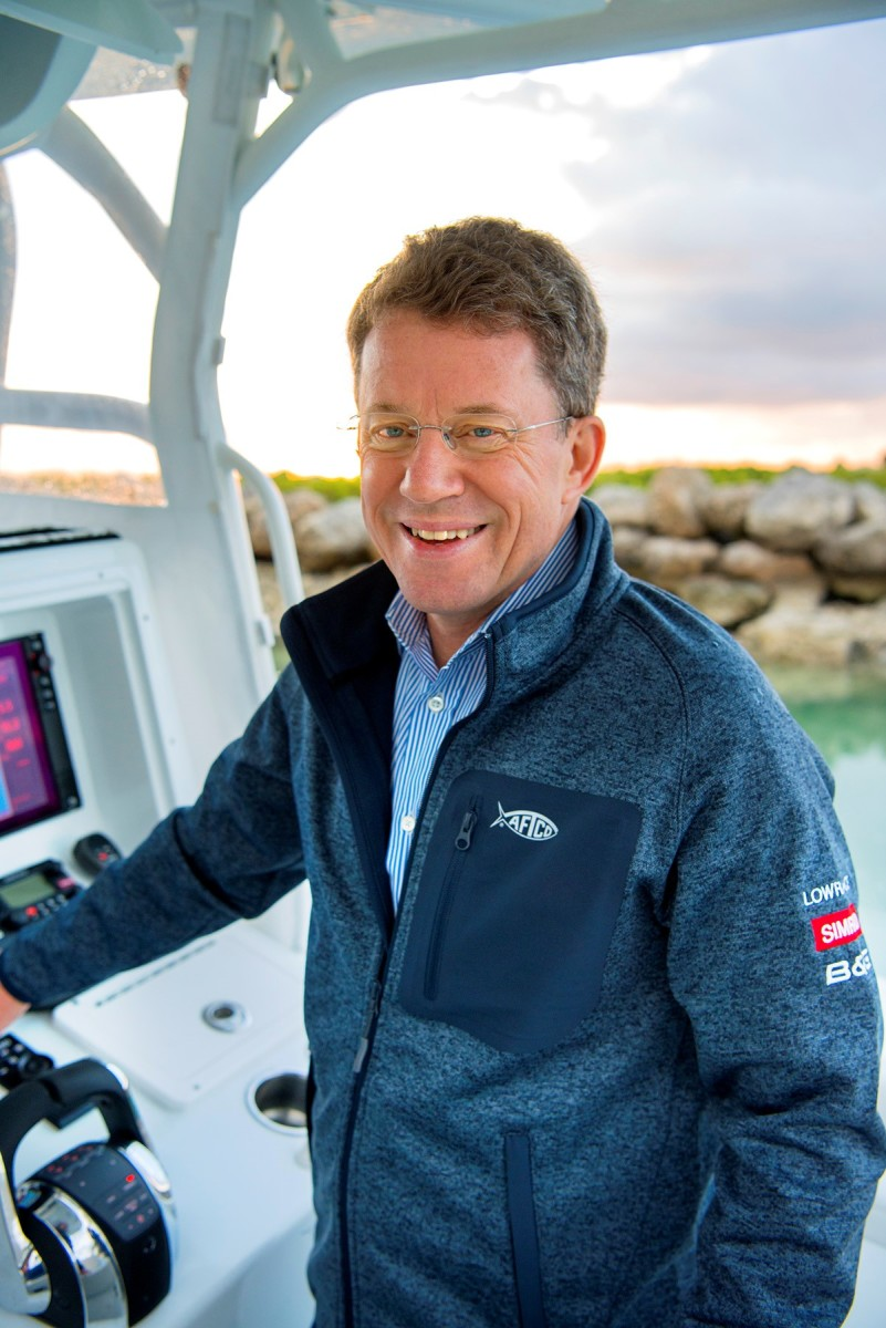 CEO Leif Ottosson wants Navico to make the boating experience more intuitive.