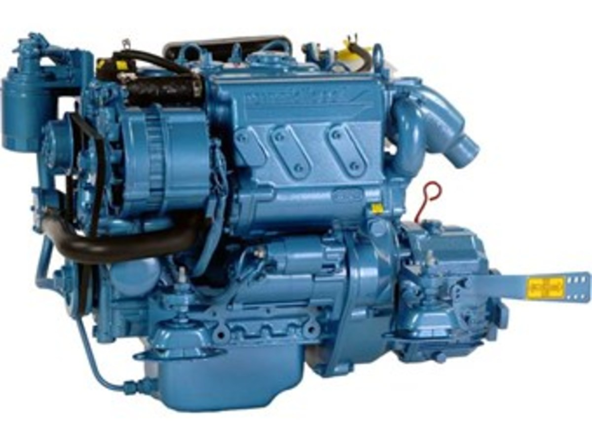 The Nanni N.321 is a popular engine for genset applications.