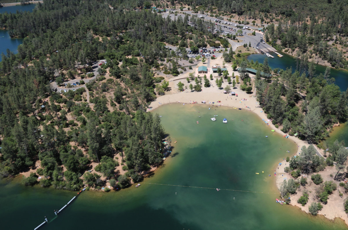 Whiskeytown National Recreation Area provides opportunities to go boating, fishing, water skiing, camping, hiking, mountain biking and horse riding.