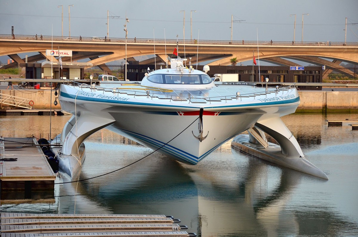 Boats that run on alternative fuel sources will help contribute to cleaner waterways and oceans.