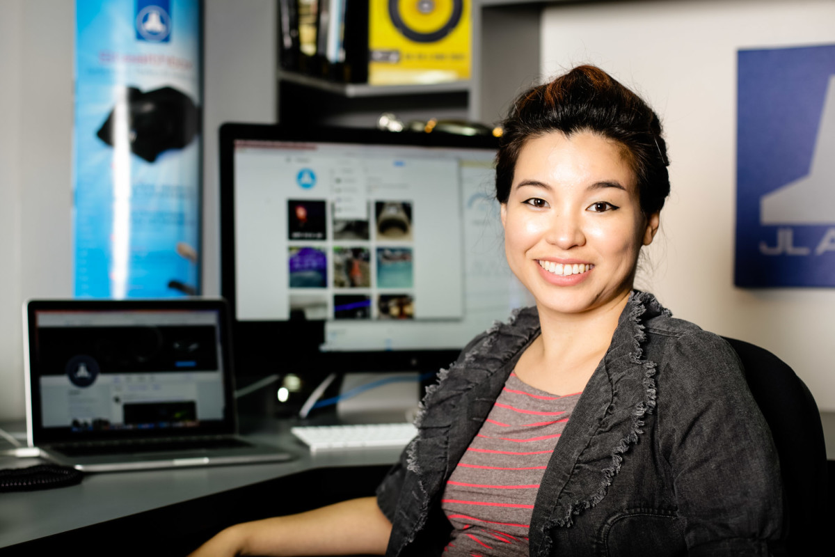 Marian Liu will serve as communications manager at the audio company.