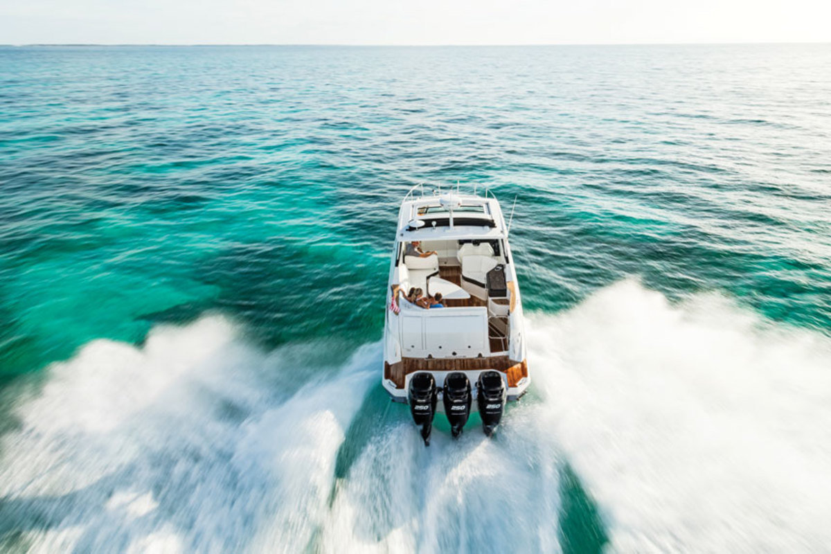 Sea Ray is focusing on outboard boats from 24 to 40 feet.