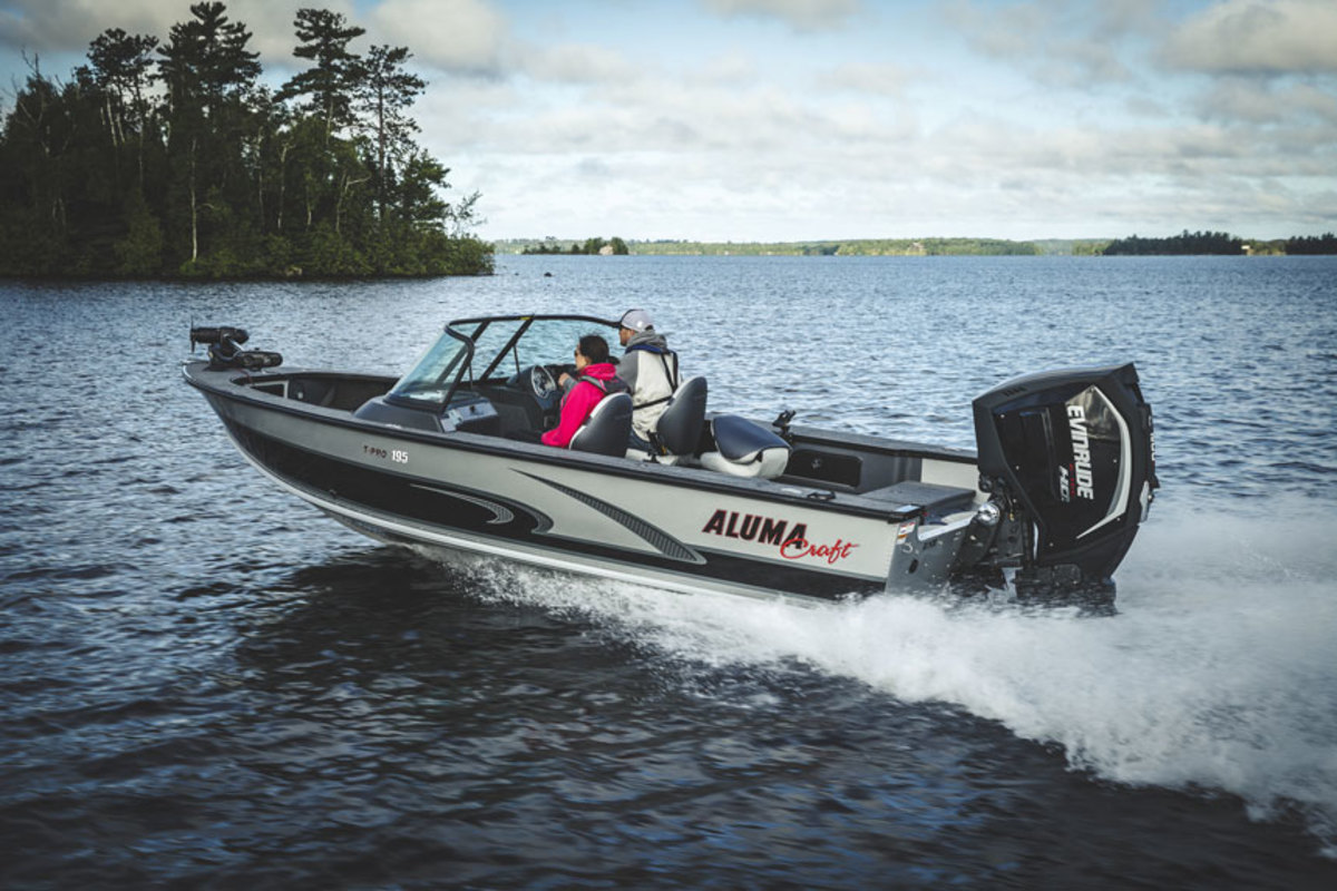 BRP acquired Alumacraft in late June and formed a Marine Group with its Evinrude brand.