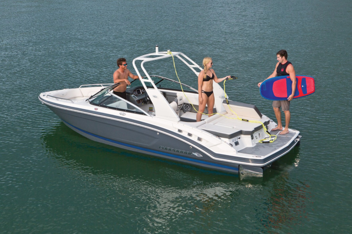 Sales of Chaparral's Surf models contributed to a record quarter for parent company Marine Products. Corp.