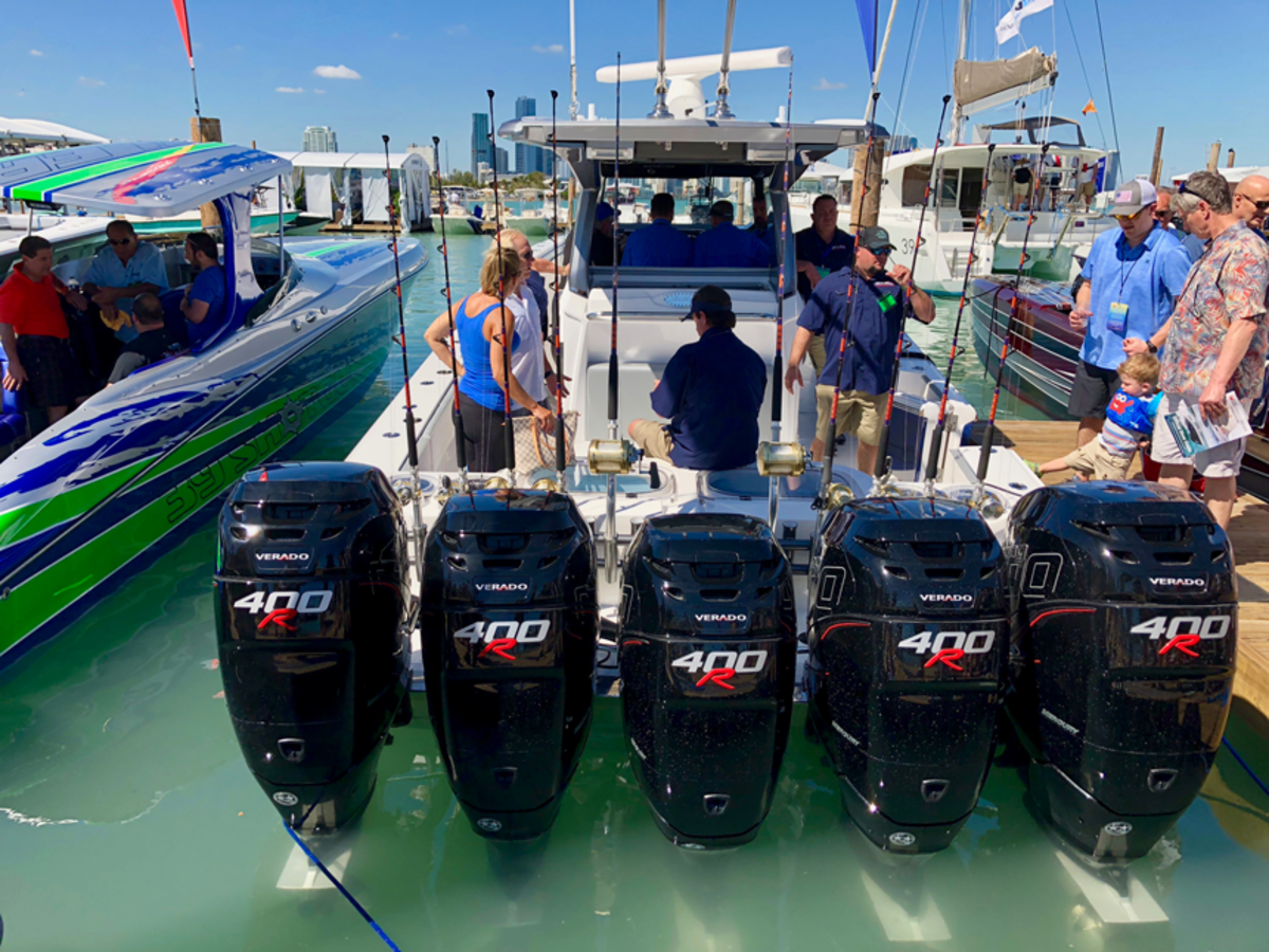 Demand for large outboard engines helped drive growth in marine expenditures to $39 billion last year.