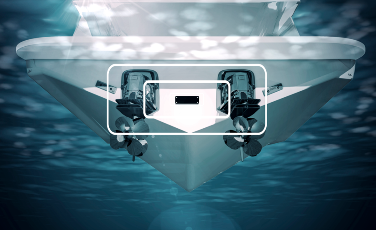 Volvo Penta's Active Corrosion Protection negates the need for sacrificial anodes.