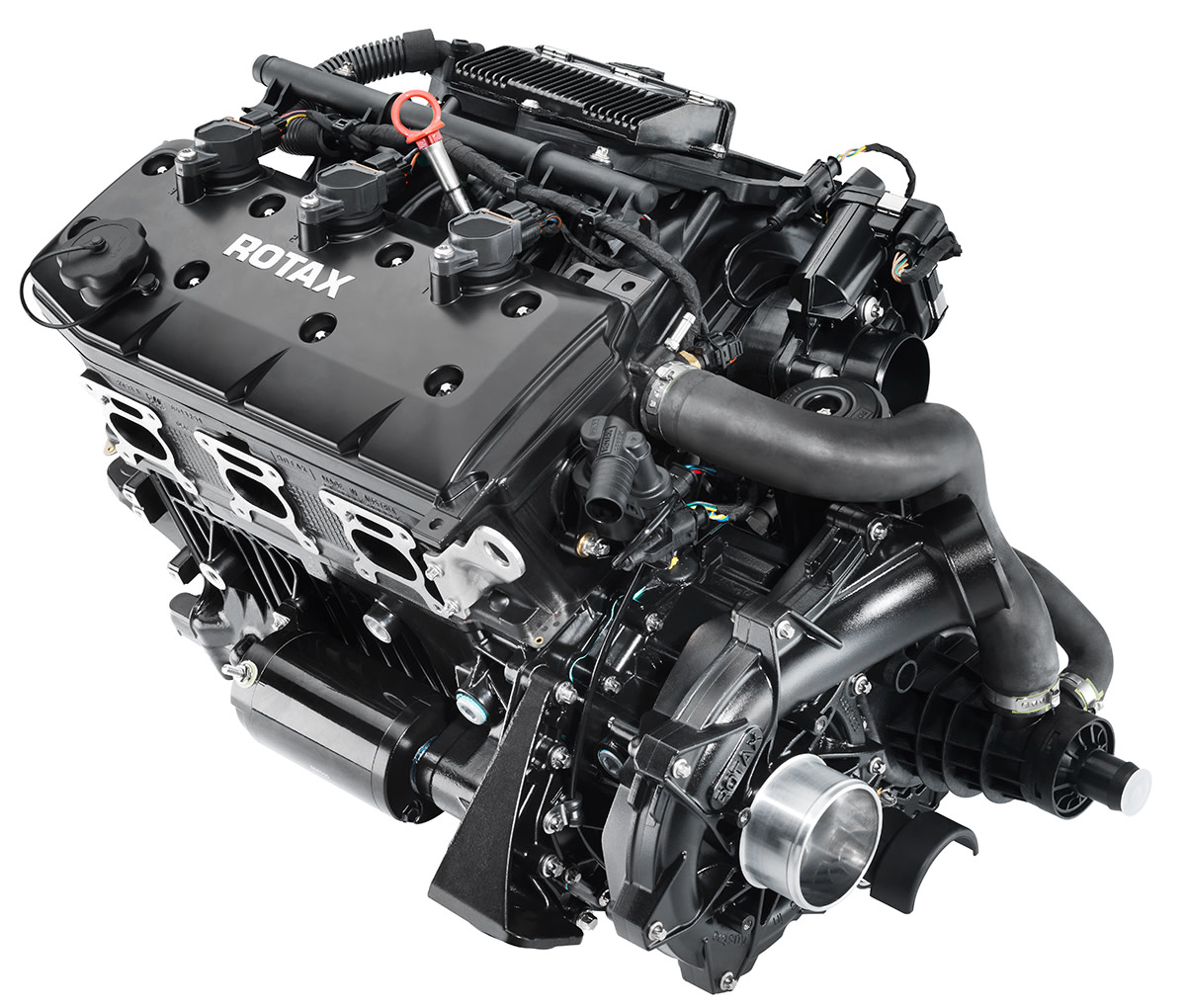 The Rotax ACE 300 produces 15 percent more power than the next largest Rotax engine.