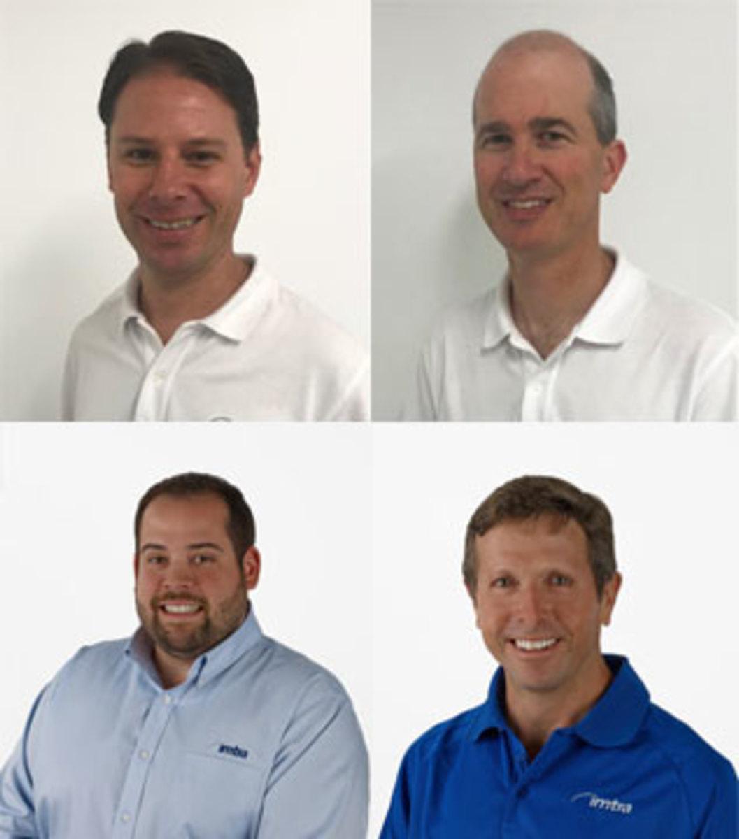 (Clockwise from top left) Brad Norton, Van Noorden, Kinder Woodcock and Nate Cabral.