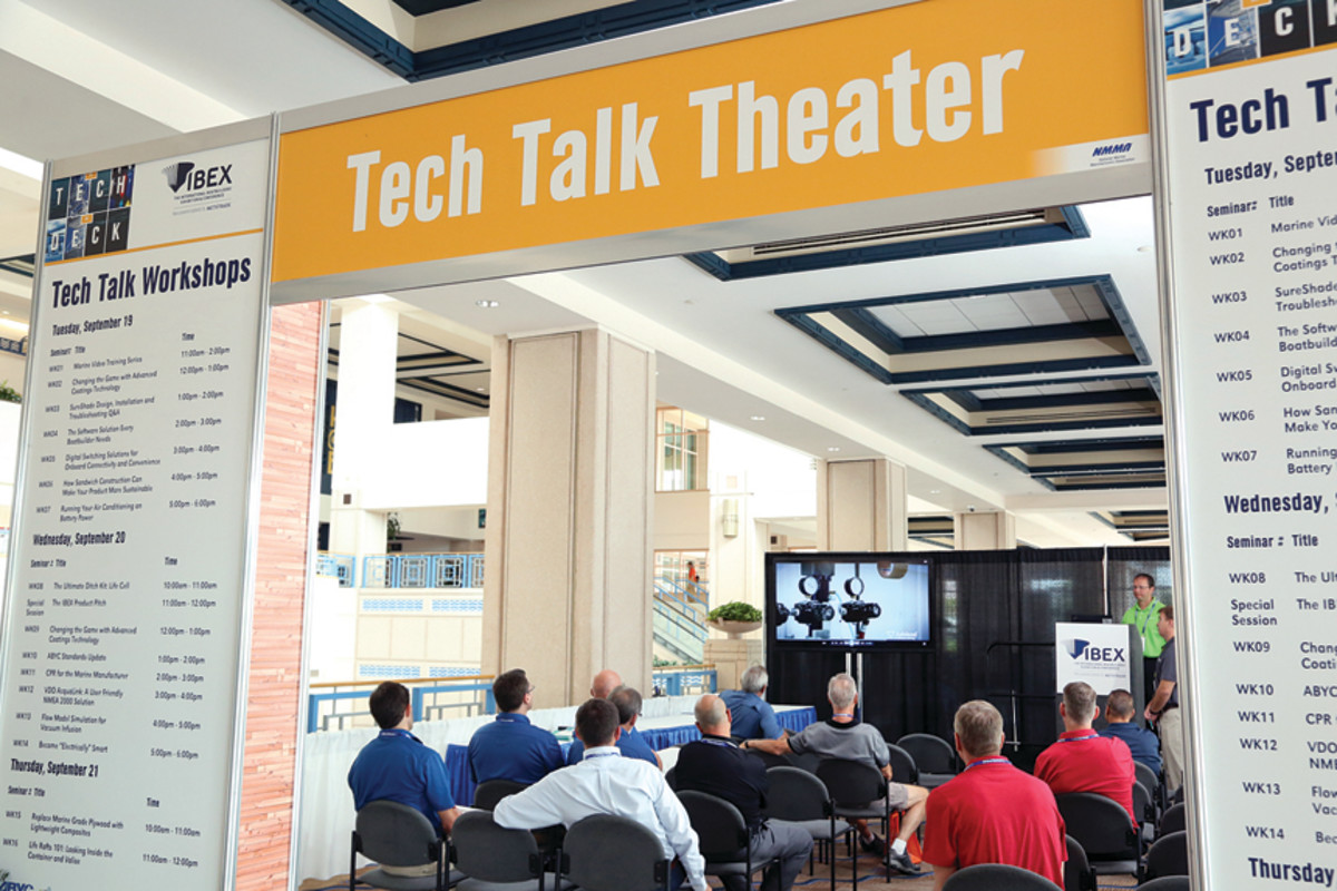 Technical discussions at IBEX tend to overcome language barriers among attendees.