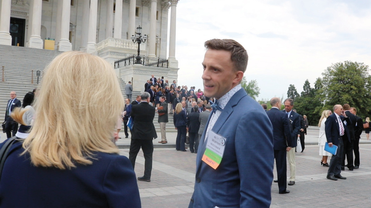 Active in government relations, McCrickard believes the American Boating Congress is an important industry event.