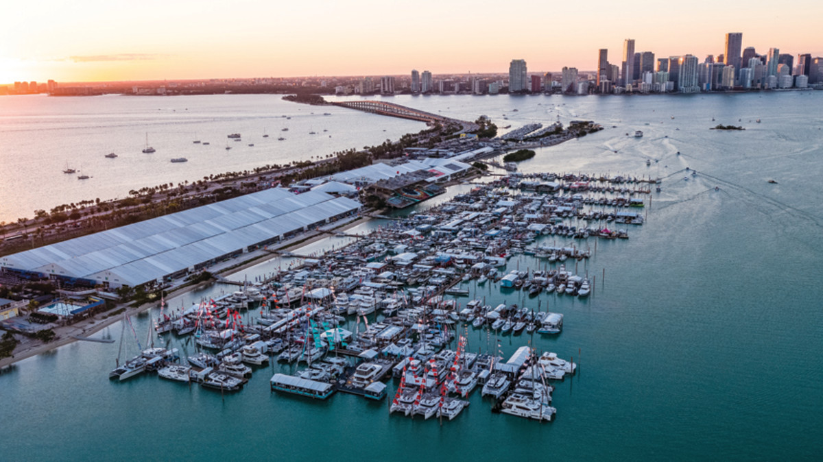 Virginia Key is home to the Miami International Boat Show.