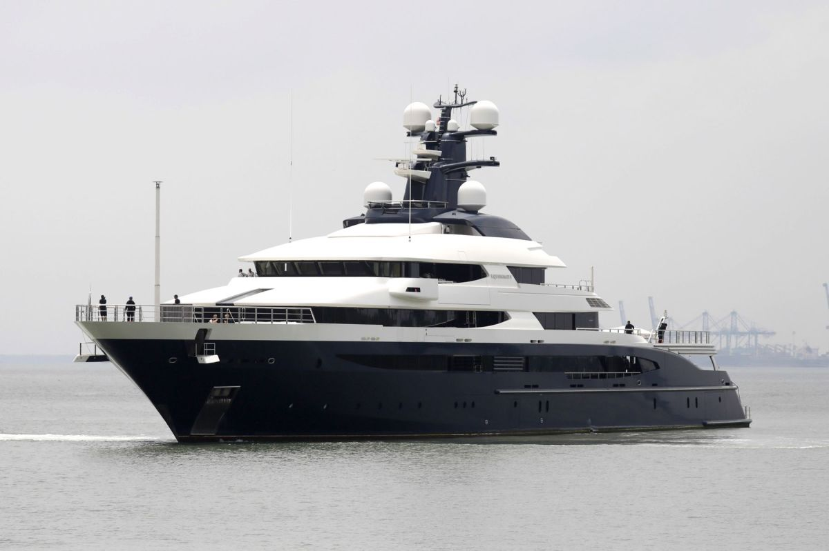 The $250 million superyacht Equanimity has been the target of a U.S. Justice Department investigation.