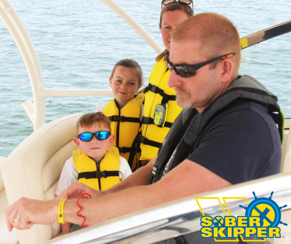 A sober skipper is a safe one.