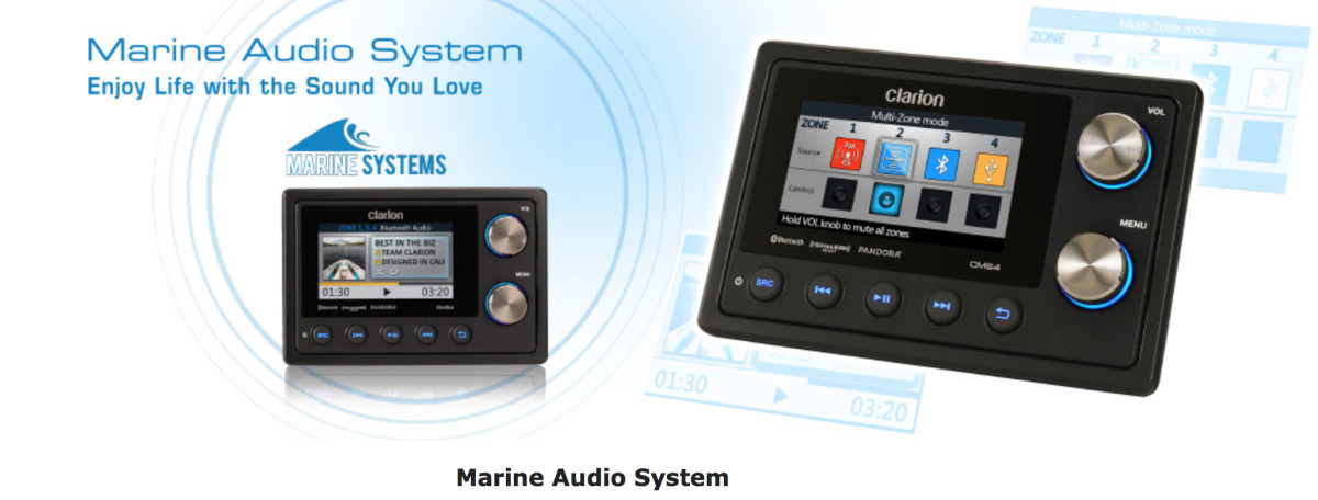 Clarion said the automotive audio industry has been changing so rapidly, it approached JL Audio to give the marine portion of the business the attention that it deserved.