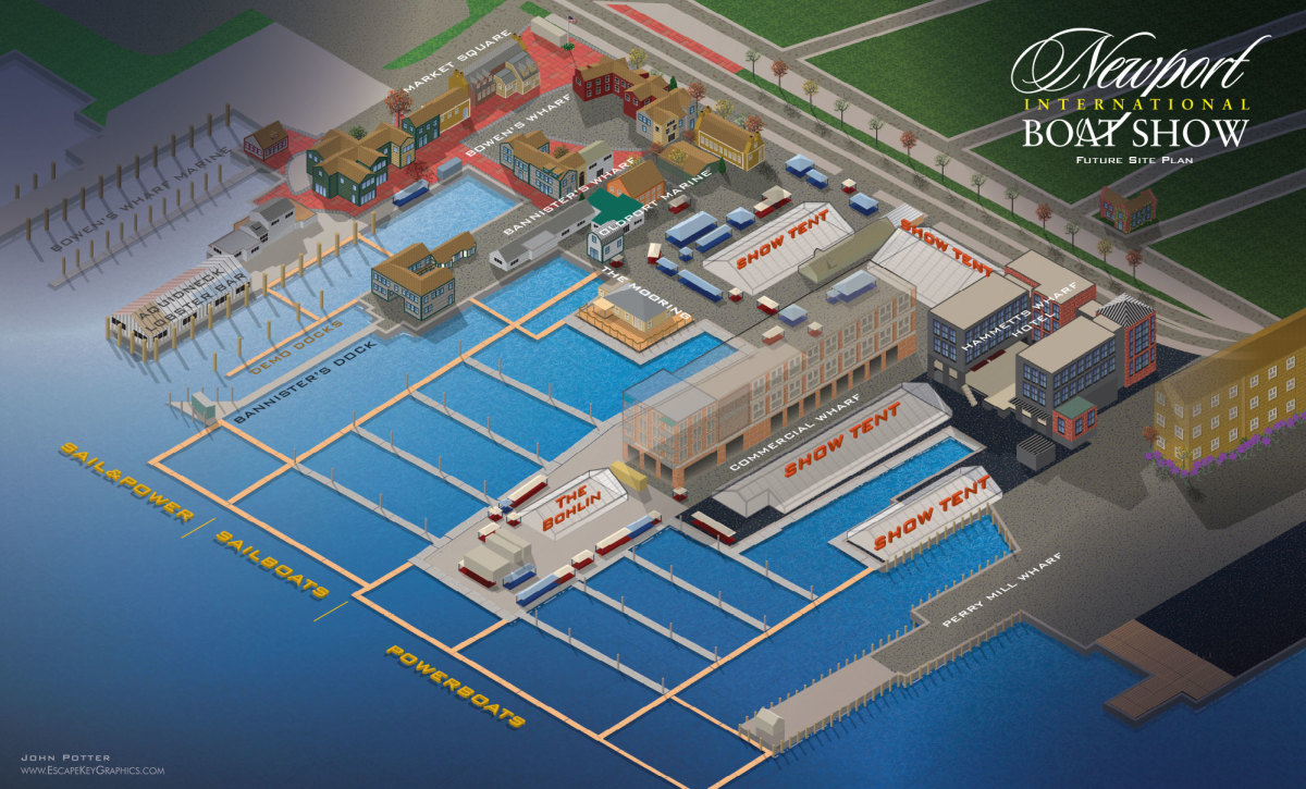 Producers will integrate the new hotel into the Newport International Boat Show's exhibits.