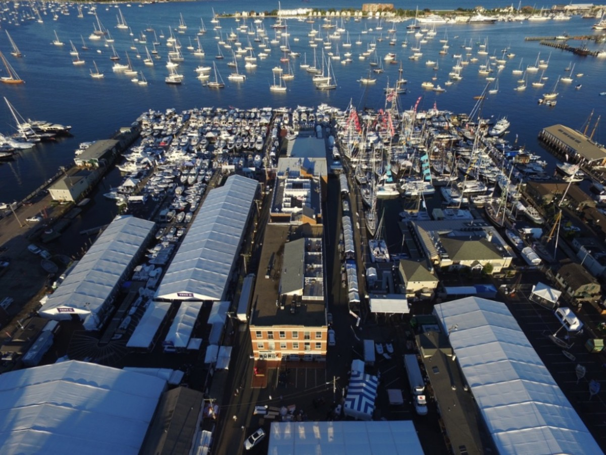 The seminars are just some of the attractions at this years' Newport International Boat Show